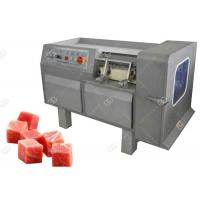 China Commercial Use Meat Processing Machine , Meat Dicing Machine Automatic Operation wholesale
