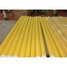 China Baixa malha da impressão da tela do poliéster do monofilamento do alongamento com branco e amarelo wholesale