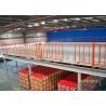 China Pisos de entresuelo industriales de la estructura de acero de Warehouse, plataforma del almacenamiento del entresuelo wholesale