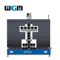 China 10KW Glass Processing Machines , Glass Loading Table PLC Control System wholesale