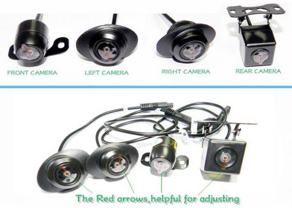 10 18v Car Surround Camera System H 264 Birds Eye View