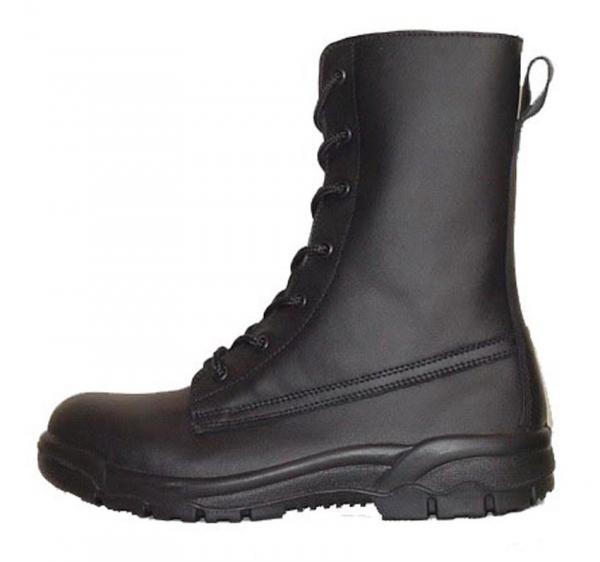 Quality Industrial shoes waterproof steel toe work shoes black leather work boots for sale