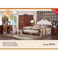 China American style antique king size princess hand painted bedroom furniture wholesale