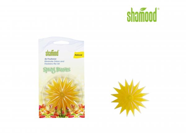 Quality Plastic Air Freshener Scented Starfish with Stick in Car & Home Windows  for sale