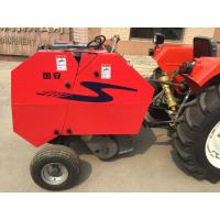 China Manufacturer agriculture farm machine tractor mounted mini round straw baler for India market on sale