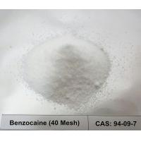 China CAS 94-09-7 Local Anesthetic Raw Powder Benzocaine / Ethyl 4-Aminobenzoate 40 Mesh For Pain Relive wholesale