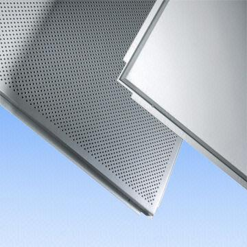 Quality Decorative Aluminum Lay-in Ceiling Tiles, Metal Ceilings, Acoustical Ceilings for sale