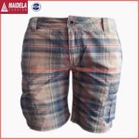 China Mens casual cargo shorts with cotton fabric wholesale