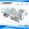 China 3つの位置の中央ブレーキ足車が付いている携帯用病院用ベッドの緊急の手動クランク、100cmの幅 wholesale
