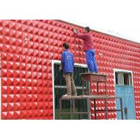 China Spa Hotel Waterproof Exterior Wall Decoration 3D Wall Panel  / 3D Decorative Wall Paneling Tiles wholesale