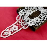 Retro Long Chemical Free Floral Lace Collar Applique For National Costume Cloth