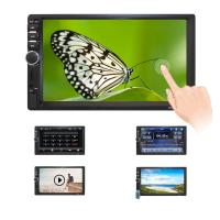 China 7 Inch HD Double Din Touch Screen Monitor 12V Voltage 13 Months Warranty wholesale