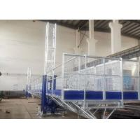 China Easy Erection Mast Climbing Equipment , Window Cleaning Platform High Safety on sale