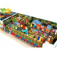 China Kids Zone Plastic Indoor Playset , Soft Play Structures Unique Design Non Toxic Material wholesale
