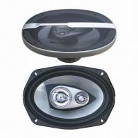 China Speaker with rubber butyl surround edge, made of injection molded polypropylene cone wholesale