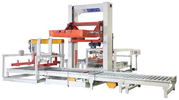 Quality 11KW Plastic Bottle Packaging Machine Auto Case Palletizer Machine 140MMH for sale