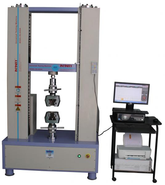 Quality 300KN Universal Test Machines , Universal Test Equipment Closed-loop Control for sale