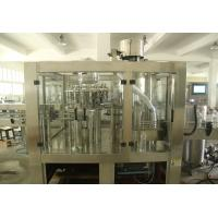 China PET Bottles 3 in1 Monoblock Fruit Juice / Water / Beer Filling Machine Production Line wholesale