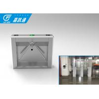 China 110V Autoamtic Card Reader Tripod Access System , Airports Stainless Steel Turnstiles wholesale