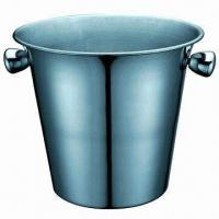 China Stainless Steel Ice Bucket with 2800ml Capacity wholesale