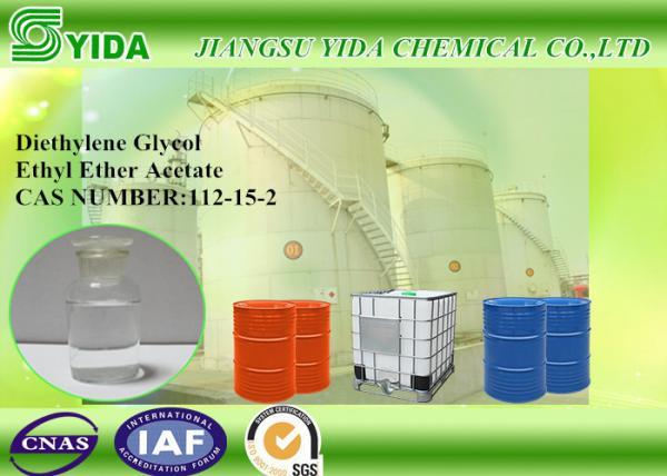 Quality Colorless Ethylene Glycol Monoethyl Ether Acetate 2-2-Ethoxyethoxy Ethyl Acetate for sale