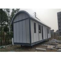 China Prefab Light Steel Frame Mobile Home With Arched EPS Sandwich Panel Roof wholesale