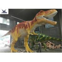 China Handmade T Rex Model Giant Dinosaur Statue For Road Beautification / Zoo Exhibition wholesale