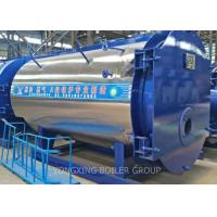 China Automatic Industrial Natural Gas Steam Furnace / Three Pass Fire Tube Boiler 1 Ton wholesale