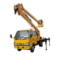 China 14-16m Aerial Platform Working Truck , Overhead Working Truck 4X2 on sale