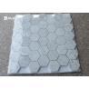 China Hexagon Carrara Natural Stone Mosaic Tile Sheets For Walls And Floors Decor wholesale