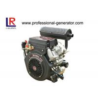 China 20HP Air Cooled Diesel Powered Engine V Twin , 4 Stroke Electric Start wholesale