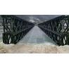 China TD Triple / Double Type Bailey Suspension Bridge Modular Steel Panel Bridge wholesale