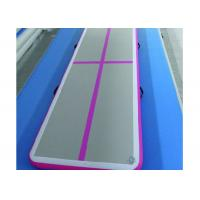 China Fireproof Inflatable Air Track Gym Mat Excellent Air Tightness With Smooth Surface wholesale