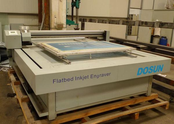 Quality Textile Flatbed Engraving Machine System , Digital Flatbed Screen Engravers for sale