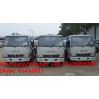 China Customized Bottom price JAC 8cbm fuel truck for sale, HOT SALE!best price JAC oil bowser vehicle for sale wholesale