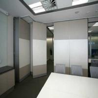 China Function Room Sliding Partition Walls / Hanging System Acoustic Movable Walls wholesale