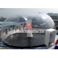 Buy cheap PVC Airtight Tent For Beach , Inflatable Clear Dome Tent Rain Resistance from wholesalers