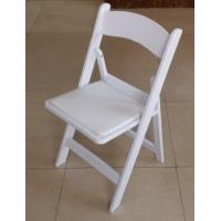 China white resin foldable wedding chair/resin foldable event chair/foldable resin wedding chair wholesale