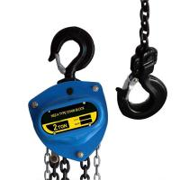 China Standard lift HSZ-A 20 Ton Manual Chain Hoist on sale