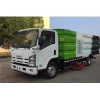 China ISUZU 4x2 Stainless Steel Road Sweeper Street Sweeper Street Cleaning Machine Sweeper Truck on sale