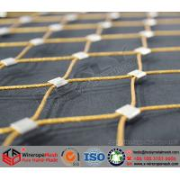 China Stainless Steel Wire Rope Mesh, Color coated wire cable mesh on sale