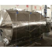 China Food Industrial Stainless Steel Mixing Tanks For Medicine Sysrup , Surface Polished wholesale