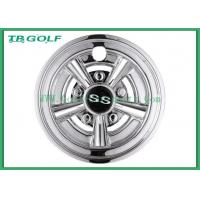 Split Spoke Chrome Golf Cart Wheel Covers Golf Cart Parts And Accessories
