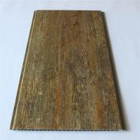China Wooden Color Wood Plastic Composite Decking Floor For Wall Ceiling wholesale