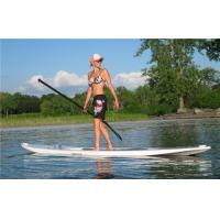 China Customized Blow Up Stand Up Paddle Board , Inflatable Race Sup Eco Friendly wholesale