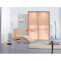 China Modern Solid Wood / Plastic Partition Sliding Door for Cabinet / Wardrobe on sale