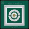 China Chinese manufacturer interior decorative gypsum plaster gesso ceiling design wholesale