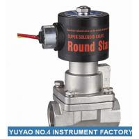 "China 1/4""Stainless Steel Solenoid Valve Steam Normally Closed Low Pressure wholesale"