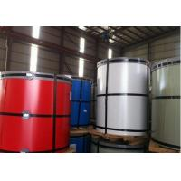 China Various Color Prepainted Galvanized Steel Coil / Strip 50 - 85 Hardness HRB wholesale