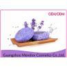 China Natural Fragrance Pure Lavender Bath Soap , Hair Shampoo Mild Natural Soap wholesale